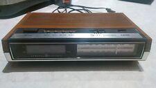 Vintage GE General Electric Digital Alarm CLOCK AM FM RADIO Faux Wood #7-4630D