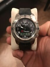 Tissot T-Touch Titanium Analog/Digital Swiss Men's Smart Watch