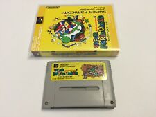Super Mario World Japanese Import version for NINTENDO SFC/SNES + Storage CASE 2