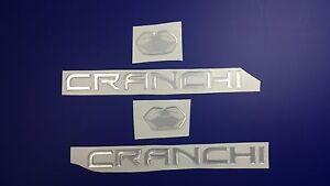 "CRANCHI boat Emblem 10"" + FREE FAST delivery DHL express"