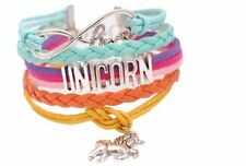 Unicorn Bracelet Gift for Girls and Party Wish Friendship