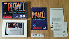 Super Nintendo SNES Pitfall The Mayan Adventure PAL