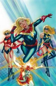 Captain Marvel 1 Poster by Alex Ross New Rolled