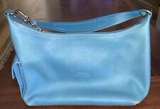 Longchamp Blue Leather Handbag
