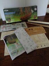 SERGAL 792  Wooden Model PRESIDENT English Frigate 1760 1/60