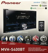 NEW PIONEER MVH-S400BT Double DIN Bluetooth In-Dash AM/FM/Digital Media Radio