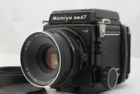 [ MINT ] MAMIYA RB67 Pro S Camera C 127mm F/3.8 Lens 120 Film Back from Japan