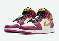 Nike Air Jordan 1 Mid (GS) Mid Dia De Los Muertos Shoes DC0500-100 GS NEW