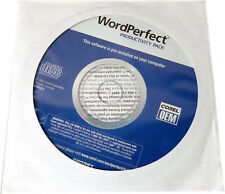 NEW Sealed WordPerfect PRODUCTIVITY PACK Recovery CD, PN KD372, Dell P/N:0CD940