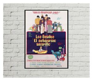 Los Beatles El Submarino Amarillo Movie Poster 0502 poster, Movie Poster