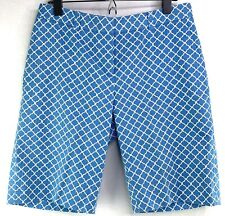Brooks Brothers Women's Size 4 Bermuda Shorts Light Blue Walking Chino Golf