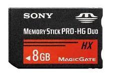 8GB 8Go Memory Stick Mémoire MS PRO-HG Duo HX MagicGate Card SONY PSP CAMERA