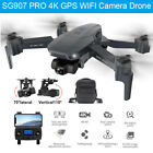 SG907 PRO 4K 5G Drone WiFi GPS FPV Quadcopter Foldable 2.4G HD Camera RC Drones