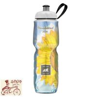 POLAR BOTTLE INSULATED 24oz SUNFLOWER WATER BOTTLE