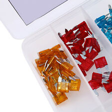 120Pc Assorted Car Fuse Auto Truck SUV Fuses Mini Blade Fuse Kits 5-30 AMP .