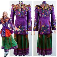 Alice in Wonderland: Through The Looking Glass Alice Mandarin Cosplay Uniform