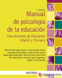 Manual de psicología de la educación. NUEVO. ENVÍO URGENTE (Agapea)