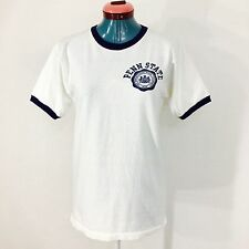 Vintage Penn State T Shirt Champion Ringer Made In Rochester NY USA XS