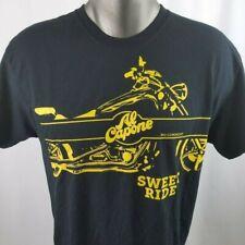 Al Capone Sweet Ride Tee T Shirt Mens Size Large Cigar Cigarillos Motorcycle