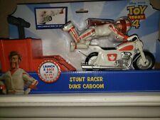 Toy Story 4 MOVIE  Duke Caboom  Kaboom Mattel Figure Motorcycle  New Pixar