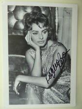 Sophia Loren (CH), KuB Autogrammkarte