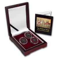 Indo-Scythian 3-Coin Set The Biblical Magi (35 BC-5 AD)