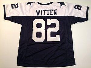 UNSIGNED CUSTOM Sewn Stitched Jason Witten Thanksgiving Jersey - M, L, XL, 2XL