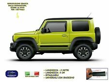 Modanature per Suzuki Jimny esterne laterali gomma adesivi salvaurti laterali