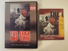 the edge of time 3 DVD-the final countdown has begun-pastor john hagee-MINT-RARE