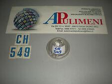 P847 PLASTICA FANALE ANTERIORE (FRONT LIGHT) BIANCO RENAULT R4 P/V