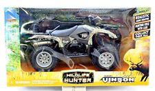 NEWRAY SUZUKI VINSON QUADRUNNER WILDLIFE HUNTER ATV  1:12 SCALE DIE CAST 42903