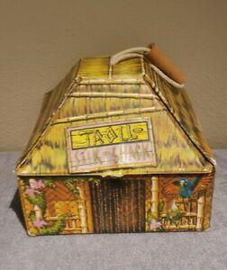 "Vtg 60s Ideal Troll Tiki ""Stik Shack"" Portable Tiki Bar Playhouse. !"