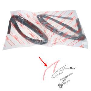 Fit Toyota Hilux RN85 LN86 RN90 YN87 RN105 LN107 Rear Glass Run Channel Seal Set
