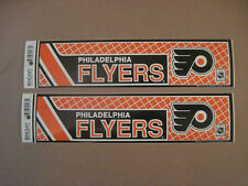 Lot Of (2) Vintage Philadelphia Flyers 1990's Wincraft Bumper Stickers