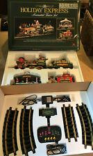 New Bright Holiday Express Animated Train Set 380 1996 Christmas Santa G Scale