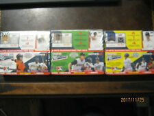 2009 Tristar Projections sealed Hobby Boxes (3) series 1 2 3 #'d out of 1800