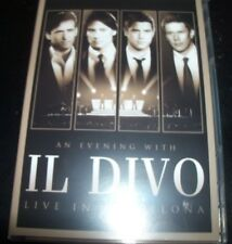 Il Divo Live In Barcelona CD DVD (Australia All Region) DVD - New (Not Sealed)