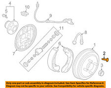 GM OEM Brake-Rear-Drum Bolt 94520093