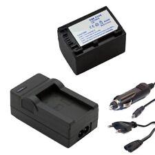 Bateria np-fv70 + cargador para Sony np-fv30, fv50 fv100 NPFV 50 NPFV 70 accu Charger