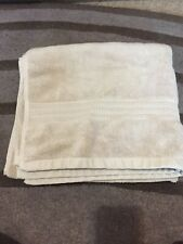 Used Excellent Condition Beige/soft Clay Bath Sheet John Lewis Egyptian Cotton
