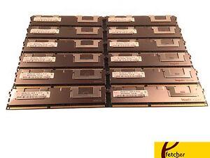 96GB (12 X 8GB) DELL PowerEdge For C2100 C6100 M610 M710 M420 R410 R515 Memory