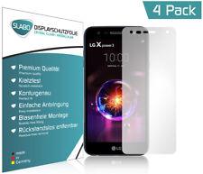 """Slabo Displayschutzfolie für LG X Power 3 (4er Set) KLAR """"Crystal Clear"""""""