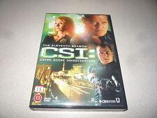 CSI MIAMI  THE COMPLETE  ELEVENTH SEASON DVD BOX SET 6 DISC