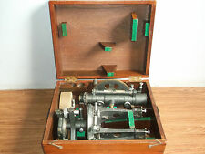 """New listing Old vintage """"Lawrence & Mayor"""" London transit brass theodolite with box of 40's."""