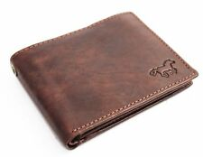Leather Men Wallet Men's with Removable Chain from Victorinox © Strong . Prevent