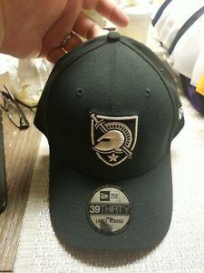 Army Black Knights New Era 39THIRTY Flex Hat Black Large-XLarge