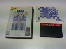 SPEED BALL master system