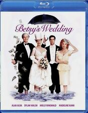Betsy's Wedding Alan Alda  NEW Blu-ray Disc Buy 2 Items - Get $2 OFF