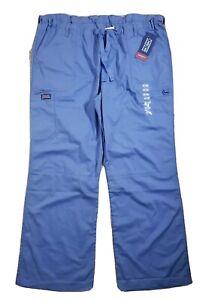 Cherokee Workwear Scrubs Women's Cargo Pants 4020 Ciel Blue CIEW