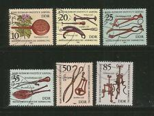 Germany Gdr Ddr – 1981 – Medical Instruments – #2213-2218 – Set Of 6 – Used/Cto
